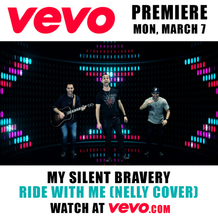 My Silent Bravery Ride With Me Video Premiere