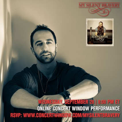 My Silent Bravery Online Concert Window Performance