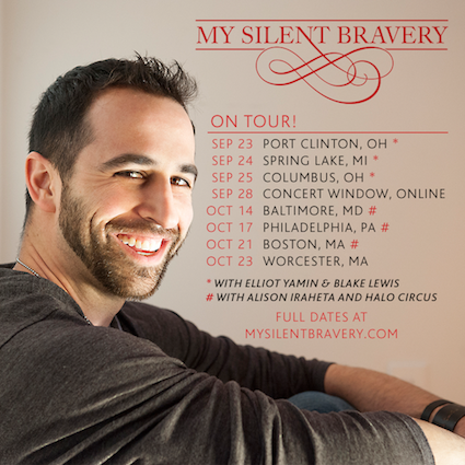 My Silent Bravery Fall Tour Dates