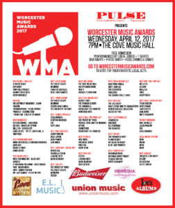 My Silent Bravery Worcester Music Awards Nomination